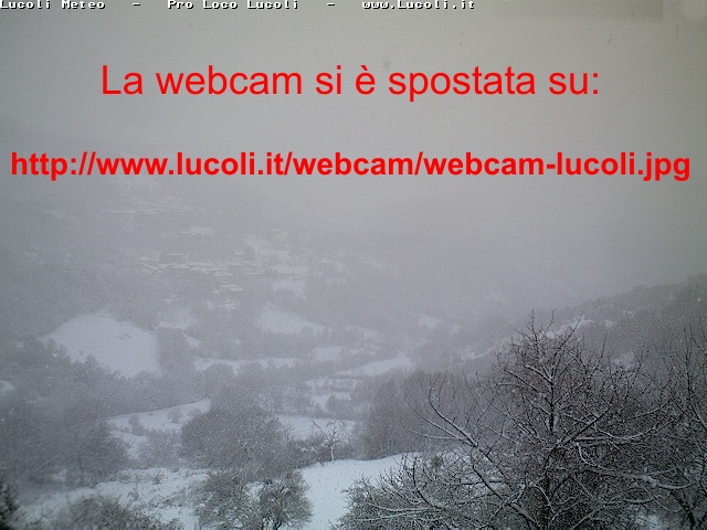 webcam Lucoli